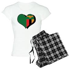 I Love Zambia Pajamas