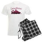 Snowilicious Snowmobile Men's Light Pajamas
