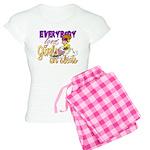 Girls on Sleds Women's Light Pajamas