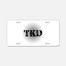 Martial Arts TKD Aluminum License Plate