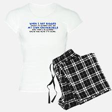 My Own Snowmobile Pajamas