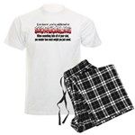 YKYATS - Parts Fall Off Men's Light Pajamas