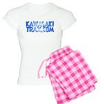 KawasakiTrax.com Logo Women's Light Pajamas