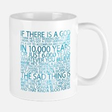 God's working on it Mug