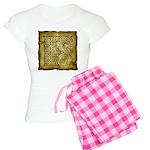 Celtic Letter F Women's Light Pajamas