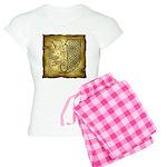 Celtic Letter J Women's Light Pajamas