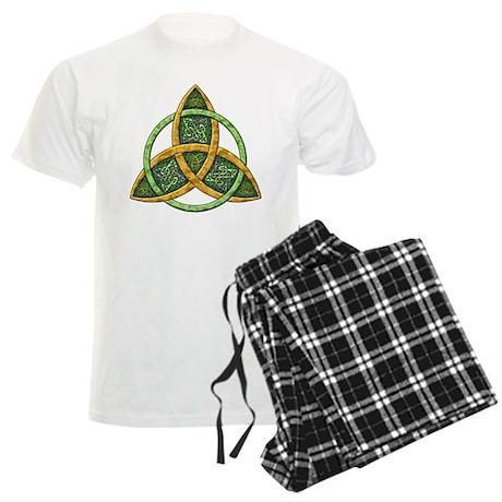 Celtic Trinity Knot Men's Light Pajamas