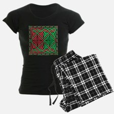 Red & Green Celtic Knotwork Pajamas