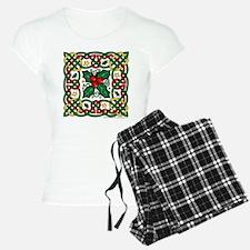 Celtic Garland & Holly Pajamas