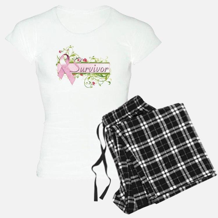 Survivor Floral Pajamas