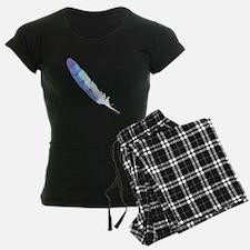 Blue Feather Pajamas