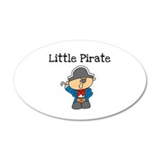 Little Pirate 22x14 Oval Wall Peel