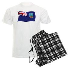 Montserrat Flag Pajamas