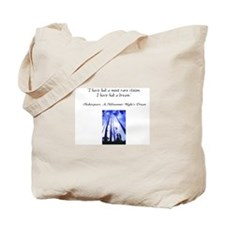 I Have Dreamed a Dream Tote Bag