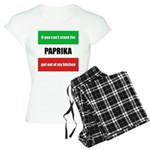 Paprika Lover Women's Light Pajamas
