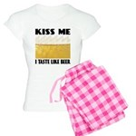 Kiss Me Beer Women's Light Pajamas