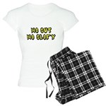 No Gut No Glory Beer Women's Light Pajamas