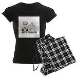 Beer Garden Women's Dark Pajamas
