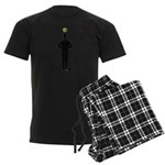 Not An Apple Men's Dark Pajamas