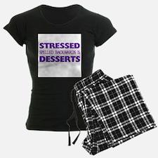 Stressed Desserts Pajamas