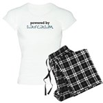 Powered By Sarcasm Women's Light Pajamas