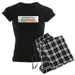 Powered By Biodiesel Women's Dark Pajamas