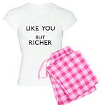 Like You But Richer Women's Light Pajamas