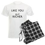 Like You But Richer Men's Light Pajamas