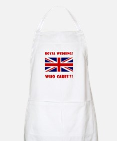 Royal Wedding! Who Cares?! Apron