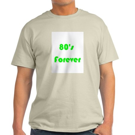 80's Fan Ash Grey T-Shirt