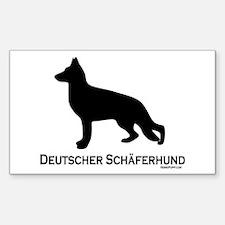 Deutscher Schaferhund Decal