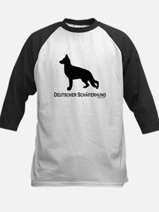 Deutscher Schaferhund Kids Baseball Jersey