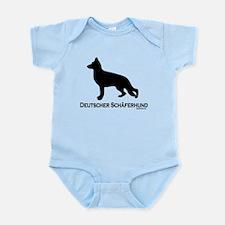 Deutscher Schaferhund Infant Bodysuit