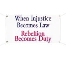 Injustice - Banner