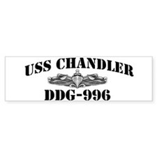 USS CHANDLER Bumper Sticker