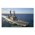 USS CHANDLER Sticker (Rectangle)