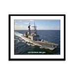USS CHANDLER Framed Panel Print