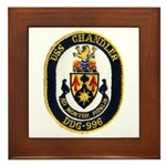 USS CHANDLER Framed Tile
