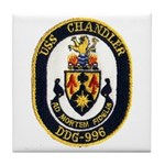 USS CHANDLER Tile Coaster