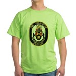 USS CHANDLER Green T-Shirt