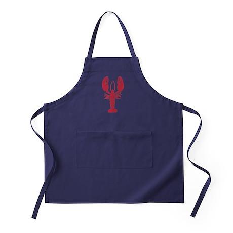 Lone Lobster Apron (dark)