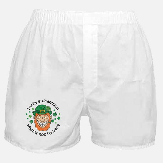 Lucky & Charming Boxer Shorts