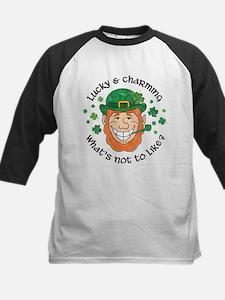Lucky & Charming Kids Baseball Jersey