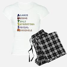 Autism Acronym Pajamas