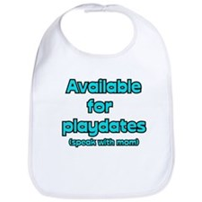 Playdates Bib