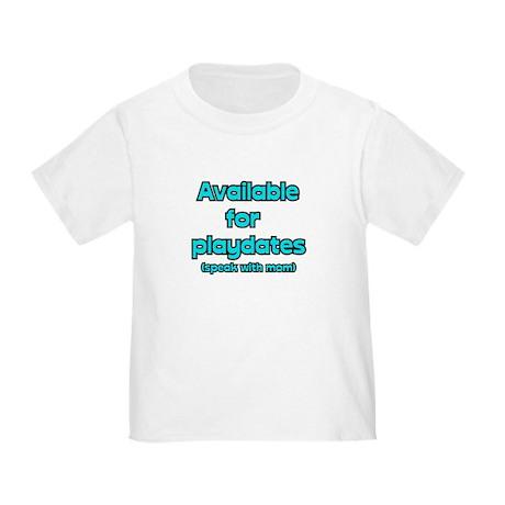 Playdates Toddler T-Shirt