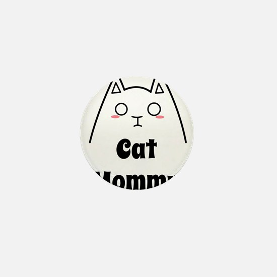 Love My Cat Mommy Mini Button