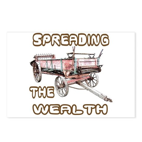 The Wealth Spreader Postcards (Package of 8)