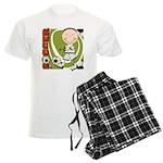Boy Soccer Player Men's Light Pajamas