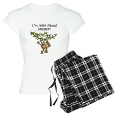 Wild About Mommy Long Sleeve Pajamas